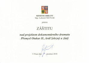 Záštita MO_Přemysl Otakar