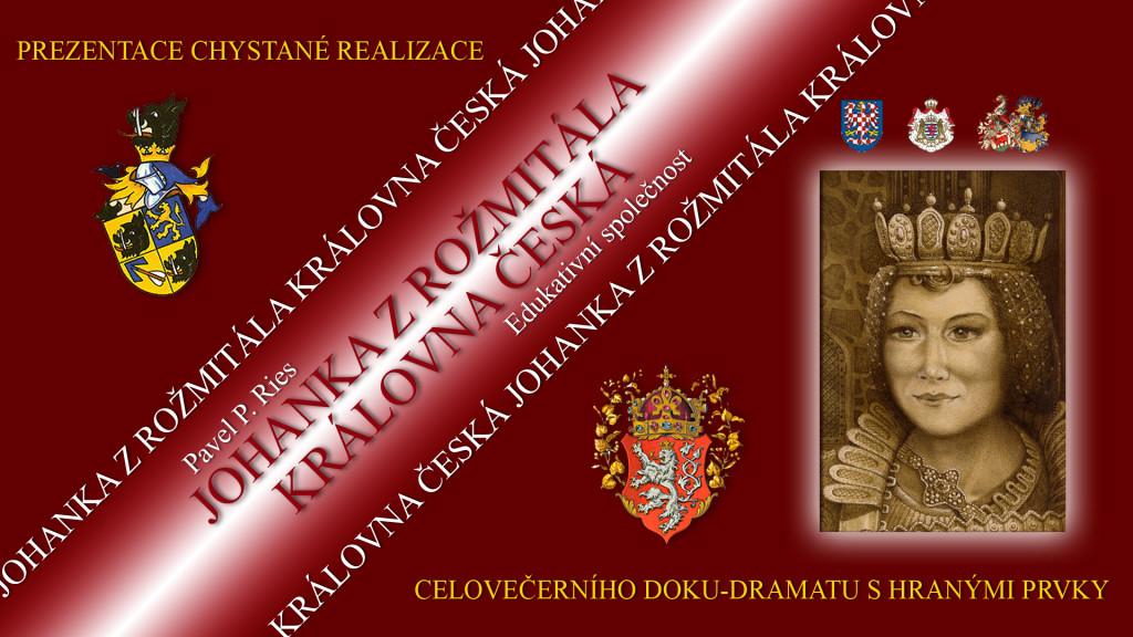00-Johanka z Rožmitála - úvodní list se všemi tituly